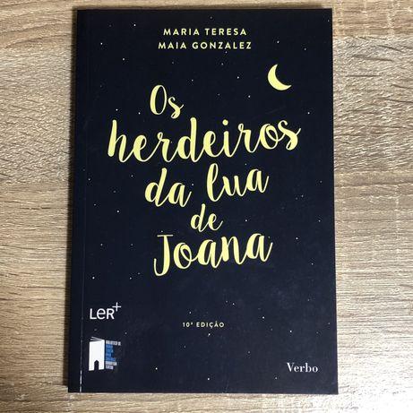 LIVRO - Os Herdeiros da Lua de Joana de Maria Tereza Maia Gonzalez