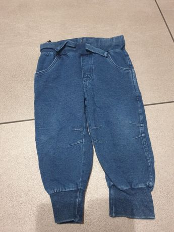 Spodnie jeansy dżinsy 80