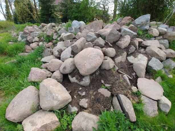 Kamienie, głazy granitowe. Możliwa wymiana.