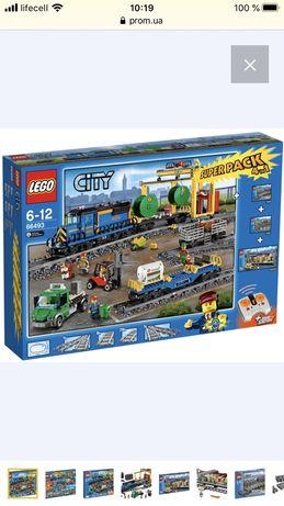 Lego City Комбинированный набор Сити Поезда 4 в 1 (66493 )
