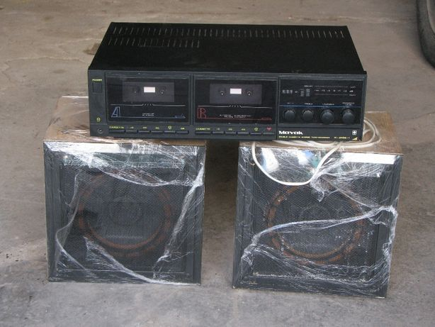 Маяк M-249-S1 двухкассетник с колонками б/у
