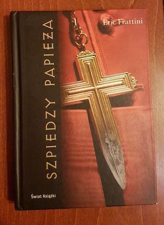 Książka Szpiedzy Papieża (autor Eric Frattini)