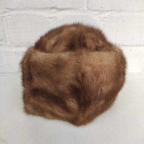 Норковая шапка женская