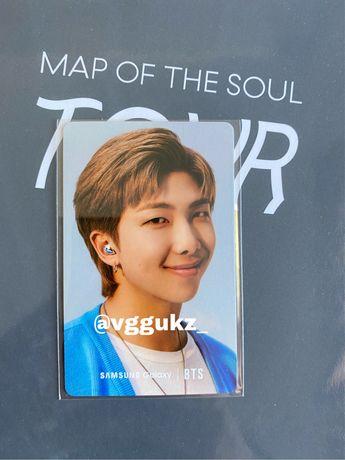 BTS Photocards Samsung Oficial