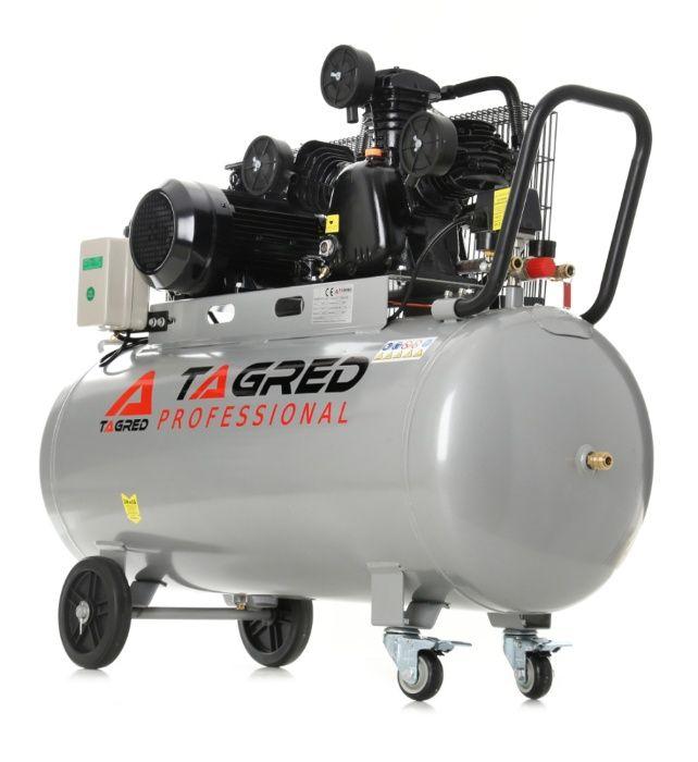 Kompresor olejowy, TAGRED TA348B 100L 400V 3 tłoki, DOSTAWA *