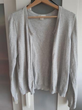 Sweterek jasnoszary H&M