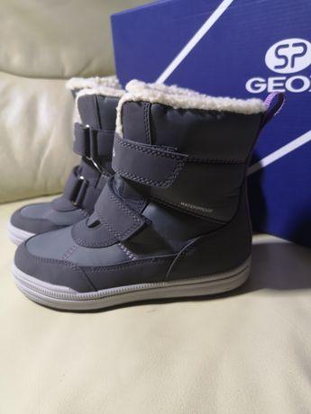 Зимние ботинки Geox Zorian Watreproof Оригинал 29.31.32.33.