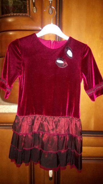 Платье Lapin Houseдля девочки на праздник, утренник, нарядное. Возраст