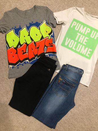 Олимпийка Adidas, футболка, джинсы на мальчика, 140-146, 10-11 лет
