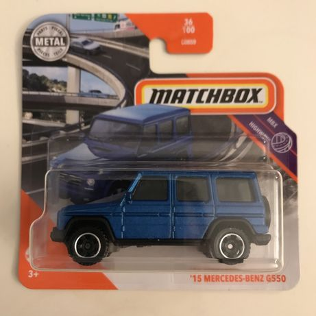 Matchbox Mercedes-Benz G550 36/100