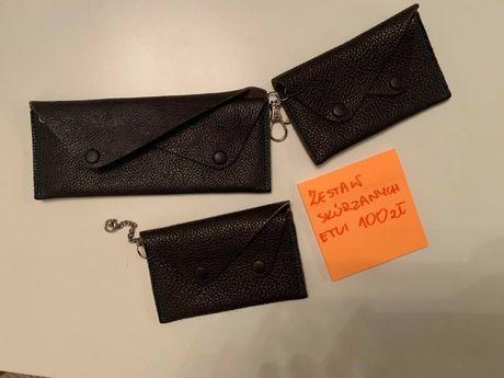 Skórzane portfele i etui - duży wybór