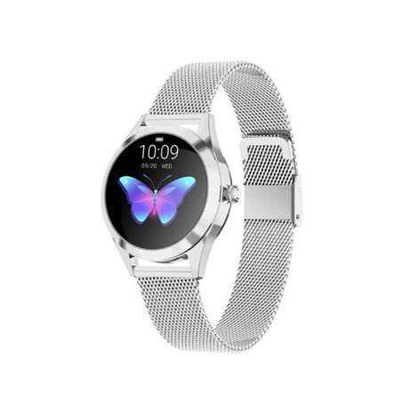 Smartwatch damski KW10 KROKOMIERZ puls OLED IP68