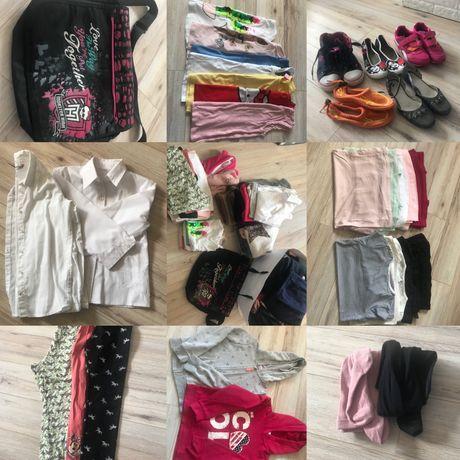 Mega paka ubranek dla dziewczynki 122-128