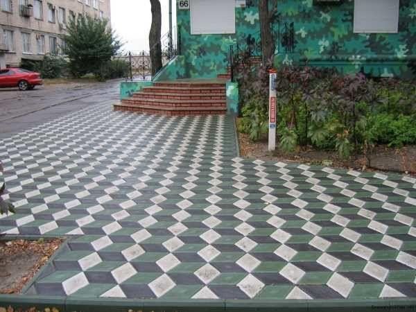 Укладка плитки тротуарної швидко якісно надійно