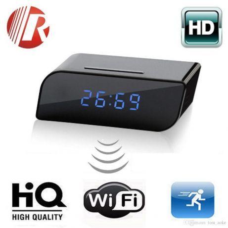 Kamera Szpiegowska Zegarek Budzik WIFI HD Podsłuch na Smartfon - nowy