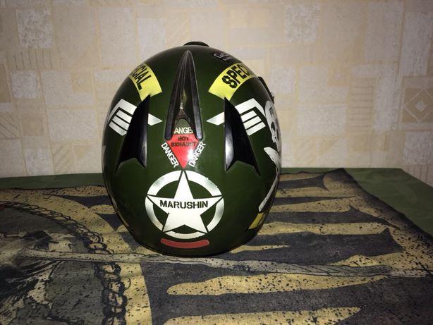 Шлем , мотокросс .