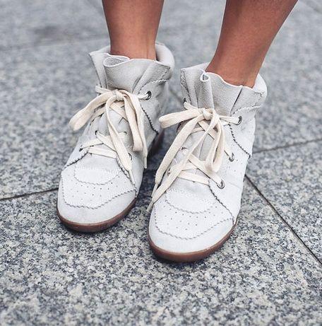 Isabel Marant sneakersy rozmiar 39 Bobby beżowe