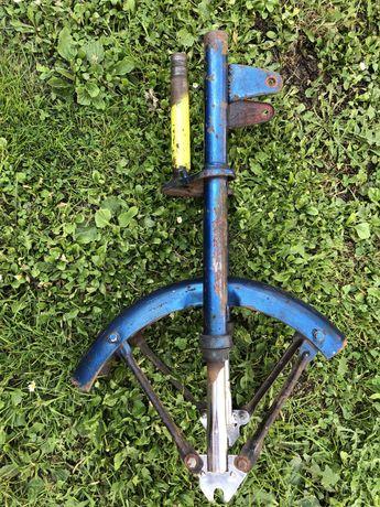 Zawieszenie przód motorynka m1 m2 lagi fi 23 mm widelec błotnik