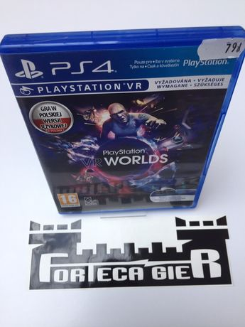 VR Worlds PS 4