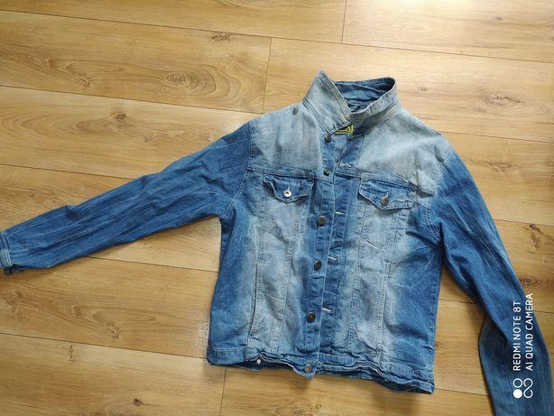 Kurtka męska jeansowa
