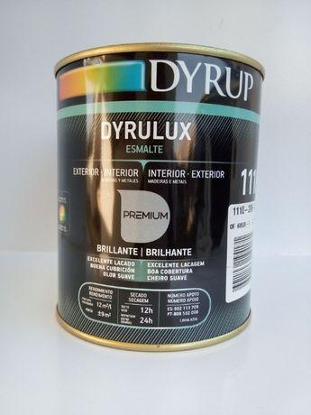 Tinta esmalte cinzento pérola da DYRUP, 0,75 lts