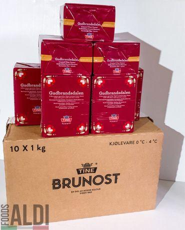 Брюност, сыр Гудбрандсдален 1 кг, TM TINE, Норвегия