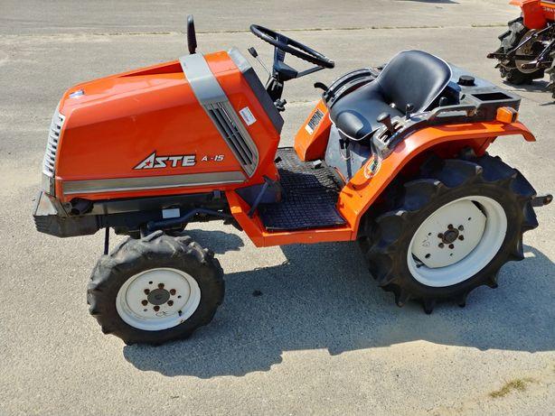 Traktorek japoński Kubota aste A15