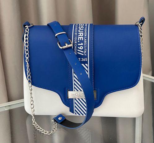 Obag Glam Imperial Blue / сумка Обаг женская