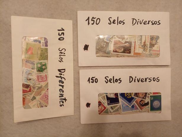 Lotes de 150 SELOS (diversos)