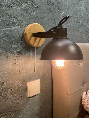 Lampa kinkiet scienny szt. 2