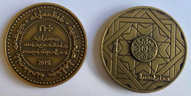 Numismatica - Medalha do 7º Encontro do Fórum dos Numismatas