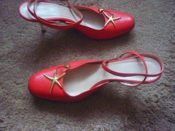 Jeu de femme- Włoskie sandały skórzane 37