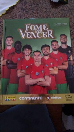 """Cromos continente seleção portuguesa """"Fome de Vencer"""""""