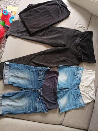 Ubrania ciążowe spodenki i spodnie