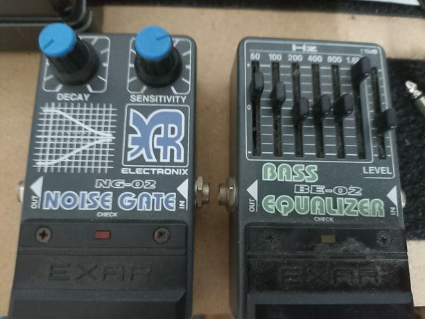 Komplet efektów exar noise gate, bass equalizer.