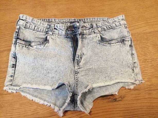 Spodenki jeansowe H&M, r. 38 !