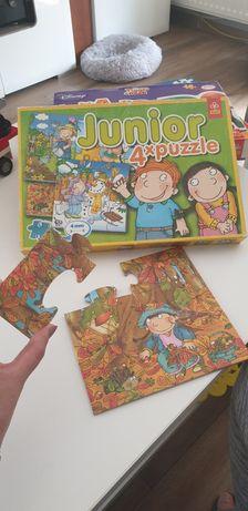 Puzzle trefl, alexander, 4 - 24 czesci, różne,  dla młodszych dzieci