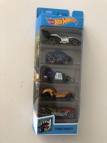 Hot Wheels streat beast zestaw 5 samochodzików