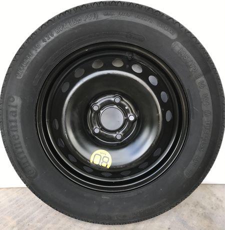 Докатка запаска запасне колесо R16 5X114.3 145/90 Nissan Qashqai Нісан
