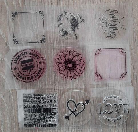 Stemple akrylowe 9 sztuk