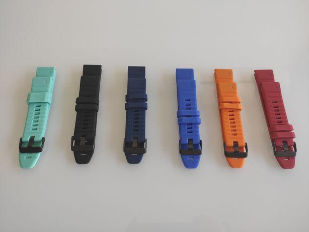 Bracelete QuickFit 22 mm Garmin Fénix 5, 6, 6 Pro ou Forerunner 935