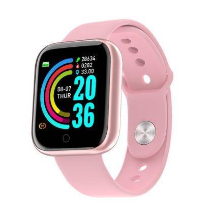 Relógio Smartwatch Fitness Rose Gold
