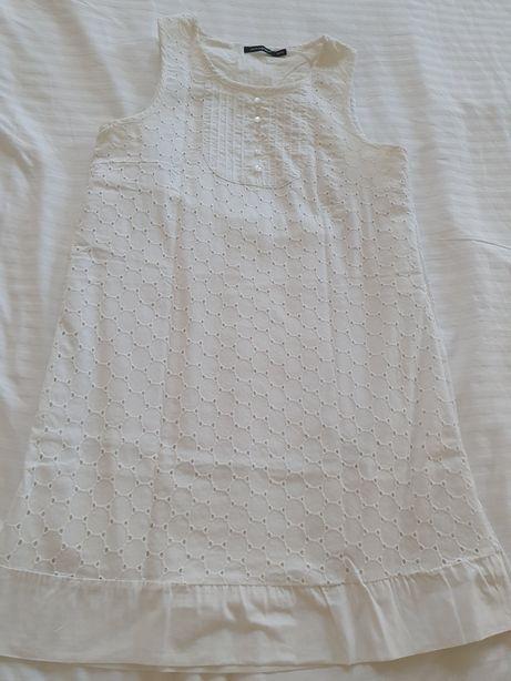 Biała koronkowa wycinanka sukienka atmosphere primark 38 m 36 s