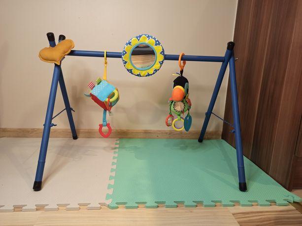 Stojak edukacyjny do zawieszania zabawek dla niemowląt
