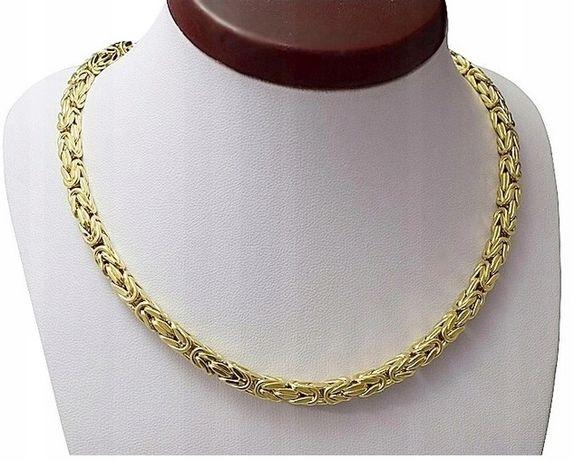 Łańcuszek Złoty SPLOT KRÓLEWSKI pr. 585 + GRAWER !