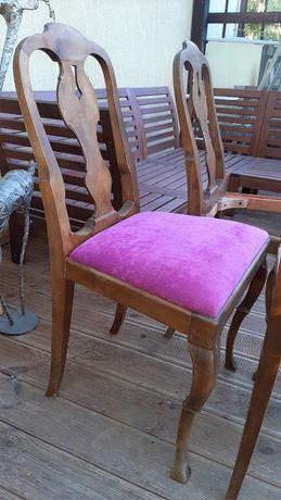 krzesła gięte, oryginalne, antyk drewno (mam kpl 4 szt.)