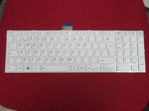 Teclado PT Toshiba -L50 - Branco