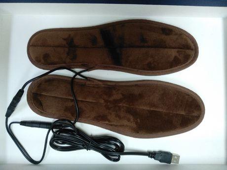 Устілки з підігрівом Теплые стельки для обуви с подогревом от USB