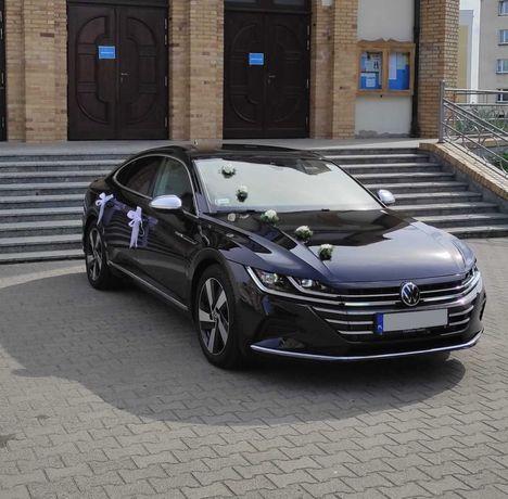 Samochód do ślubu i nie tylko wynajem Arteon 2021 z kierowcą