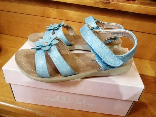 Sandałki dla dziewczynki 34